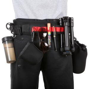 Image 3 - Chaude 3C PULUZ caméra taille ceinture multi fonctionnelle Bundle ceinture ceinture avec crochet photographie ceinture sac à dos ceinture pour SLR/DSL