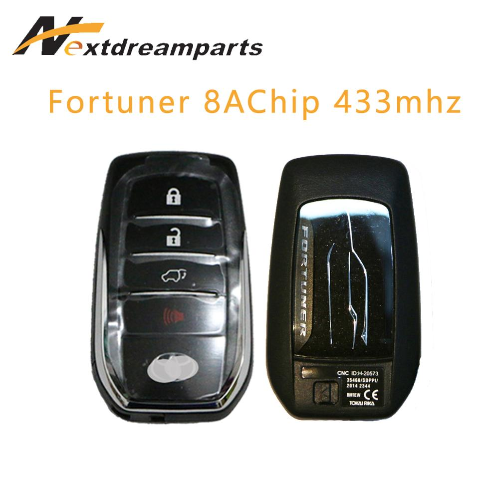 4 Buttons Smart Remote Key for Maserati President Ghibli 433MHZ with ID46 Chip