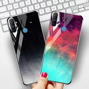 Tempered Glass Case For Oppo Realme C3 Cases Luxury Bumper Realme X7 6 5 6i X50 X2 Pro C2 C11 X Lite XT A5 A9 2020 A31 Cover