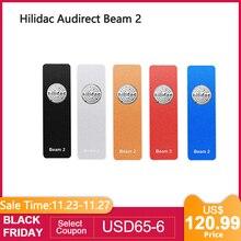 Hilidac audirect beam 2 mqa completa renderização ess9281c pro dsd128 32bit/384khz amplificador de auscultadores usb dac equilibrado 2.5mm/3.5mm