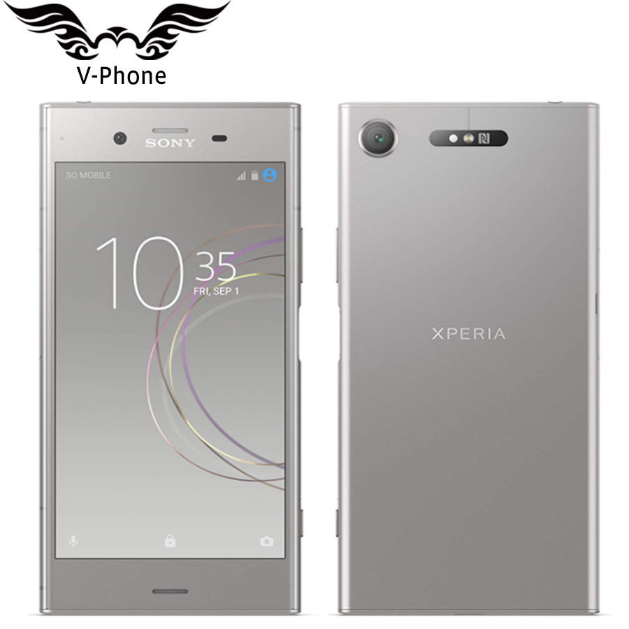 Brand New 5.2 Inch 4GB 64GB Sony Xperia XZ1 G8341 Mobile Phone 4G LTE Snapdragon 835 Octa Core NFC 19MP 13MP NFC Original Phone