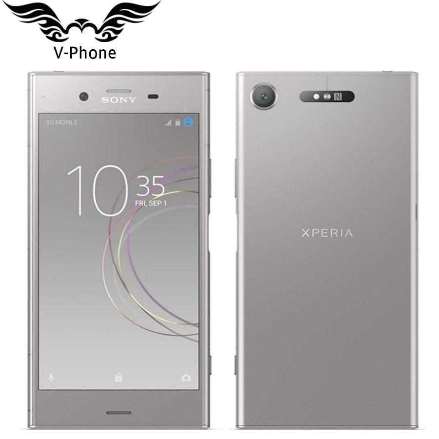 Brand New 5.2 Inch 4GB 64GB Sony Xperia XZ1 G8341 Mobile Phone 4G LTE Snapdragon 835 Octa Core NFC 19MP 13MP NFC Original Phone