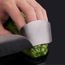 Stainless Steel Hands Fingers Guard Safe Slice Vegetables Fruit Cutting Protect Kitchen Tools Gadgets
