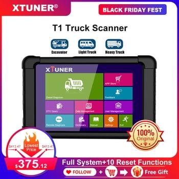Xtuner T1 Heavy Duty Truck Diagnostic Scanner Engine ABS Airbag DPF OBD2 Auto Professional Trucks Diesel OBD