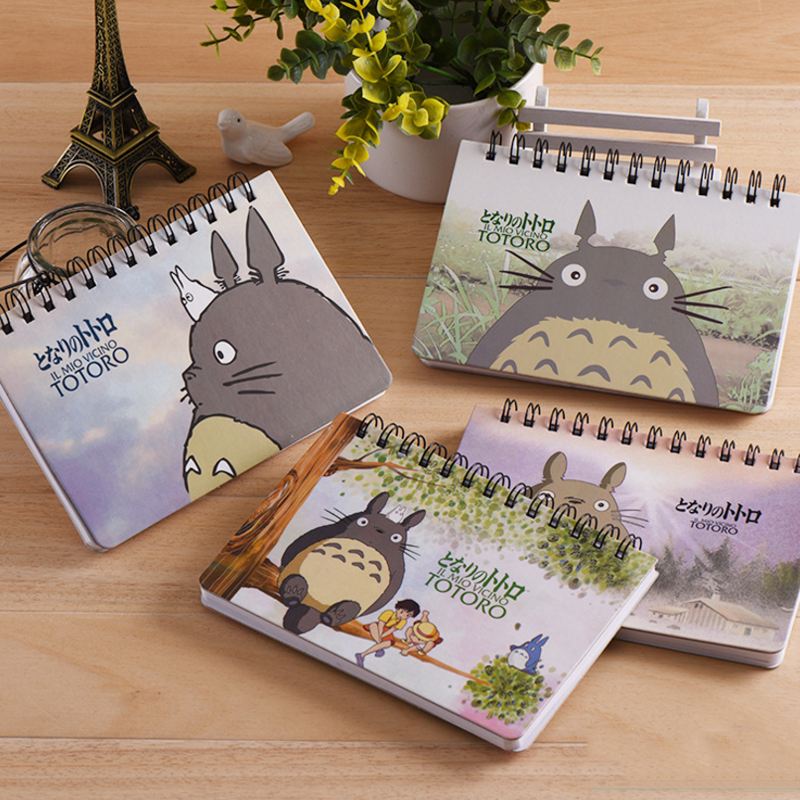 1 Pcs Cartoon Totoro Weekly Plan Spiral Notebook Agenda For Week Schedule Organizer Planner To Do List Stationery School Gifts