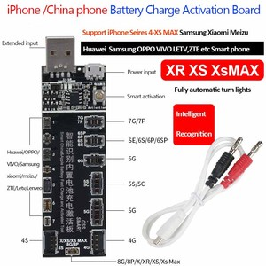 Image 5 - Jyrkior For iPhone 11Pro MAX X XR XS MAX/Samsung Battery Tester/Charger Charging Activation Circuit Board Tester Digital Display
