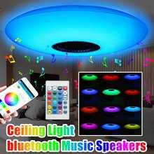 Smart 30W E27 RGB White Bluetooth Speaker LED Bulb Light Mus