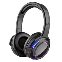 Factory Sell 500m LED Wireless Silent Disco Headphone OEM Acceptable