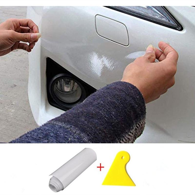 Film de Protection transparent en vinyle | 10/15/20CM X 1M/2M/3 M/LOT, pare-choc de voiture en peau de Rhino, capot de Protection pour la peinture, style