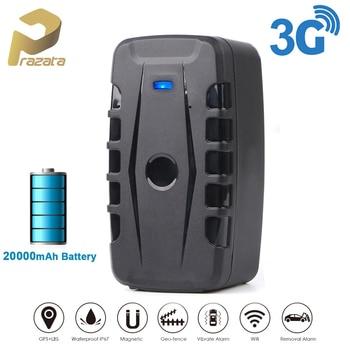 TKSTAR 3G GPS Tracker 240 Days Standby Waterproof Magnet Car Crawler GSM Locator Voice Monitor Geofence Free Tracking Software