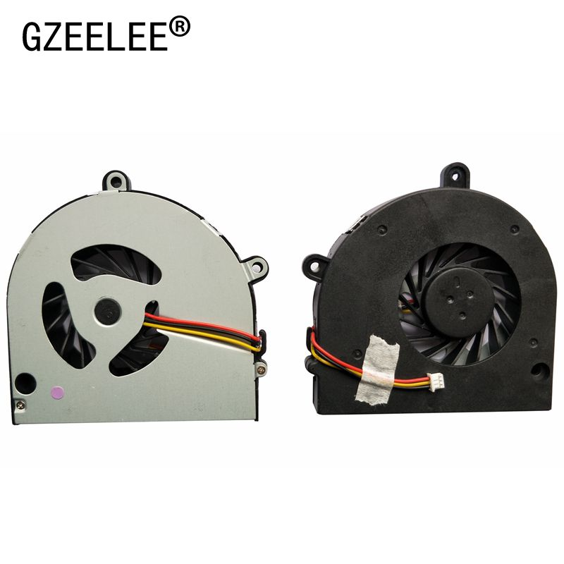 GZEELE Laptop Cpu Cooling Fan For Toshiba Satellite C660 C650 P775 A660 A660D A665 A655D L675 L675D P750 P750D P755D L670 L670D