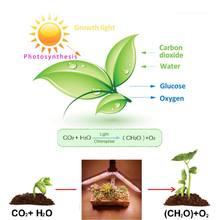 Одноголовый складной светильник для растений роста полный спектр