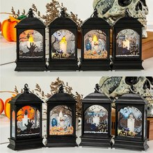 Halloween New Night LED Light Decoration Props Bar Scene Layout Desktop Accessories