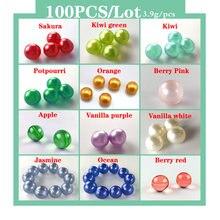 Масляные шарики для ванны spa 100 шт жемчужные бусины с эфирным