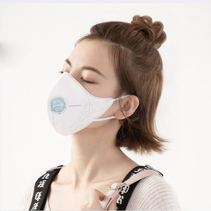 Image 3 - Xiaomi Mijia Airpop Light 360 Degree Air Wear Face Masks PM2.5 Anti haze Adjustable Ear Hanging Double Protection for Smart home