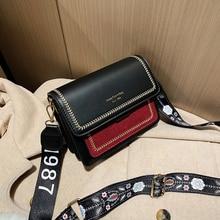 2019 حقائب صغيرة جديدة نساء موضة ins الترا النار ريترو واسعة حزام الكتف حقيبة ساعي محفظة بسيطة نمط حقائب كروسبودي