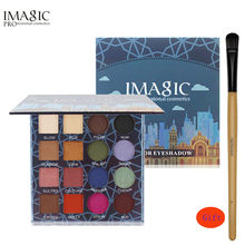 IMAGIC Professional Shimmer Matte Eyeshadow Palette 16 Colors Natural Eye Shadow Waterproof Lasting palette eyeshadow Cosmetic