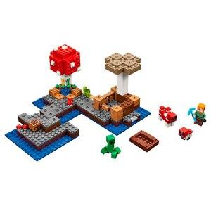 Грибной остров строительный блок с Алекс фигурку Совместимость 21129 мини-игры мой мир кирпичи набор подарки игрушки