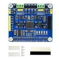 Sombrero de expansión RS485 aislado de 2 canales para Raspberry Pi 4B/3B + solución SC16IS752 con circuitos de protección a bordo