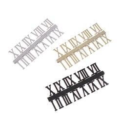 Clock Dial Digital Mechanism Parts Card Clock Accessories Roman Numeral DIY Digital Replacement Gadget Repair Clock Parts