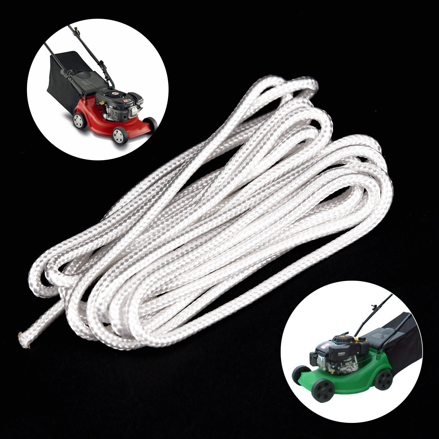 4mm x 100 Metres Starter Recoil Pull Cord Rope For Some Stihl Chainsaws