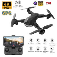 Foldable RC Drone With 4K HD Camera 2.4G WIFI FPV RC Professional Helicopter Remote control toys aviao de controle remoto
