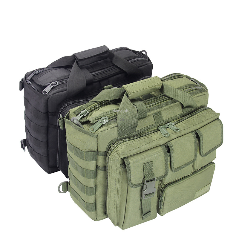 Military Tactical Laptop Bag MOLLE Hunting Cs Hiking Fishing Shoulder Bags Climbing Trekking Camping Outdoor Travel Backpack