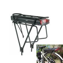 Rear rack ebike battery 36V lithium electric bike battery 36V 10AH 13AH 17.5AH bicycle battery with charger for bafang motor