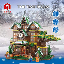 IN STOCK DHL 86002 2466PCS Creator Idea City Series The Time Room Tree House Building Blocks Brick Toys Chirstmas set Gifts