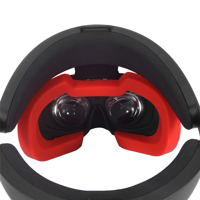 For Oculus Rift S Soft Silicone Eye Mask Cover Pad VR Headset Breathable Light Blocking Eye Cover Pad Spare Parts 1
