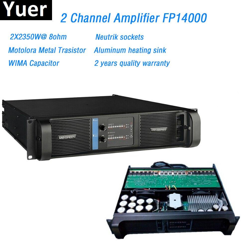 2 Channel Amplifier FP14000 Line Array Amplifier Professional 2X2350W Line Array Professional Sound Power Amplifier Line Fp14000