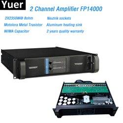 2 kanal Verstärker FP14000 Linie Array Verstärker Professionelle 2X2350W linie array professional Sound Power Verstärker Linie fp14000