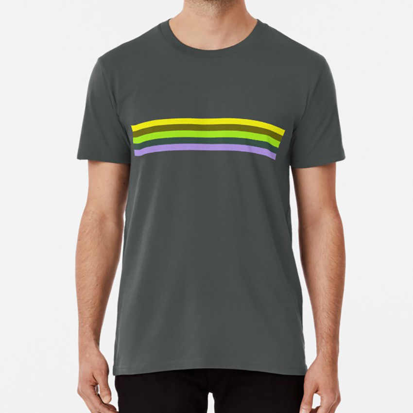 Adrien Shirt Pattern T shirt adrien lines yellow green purple minimalism adriens shirt stripes miraculous