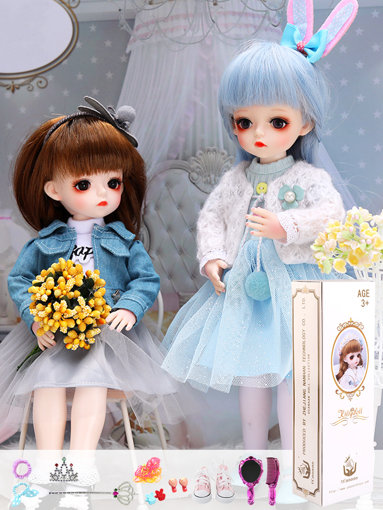 Bjd Doll Beauty-Toy Gifts 30CM Handmade Girl for 18-Joints DIY with 1/6