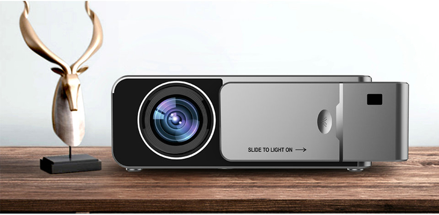 VIVICINE Newest V200 1280X720P LED HD Projector, Optional Android 7.1 Bluetooth,Support 4K Wifi HDMI USB LCD Home Theater Beamer 13