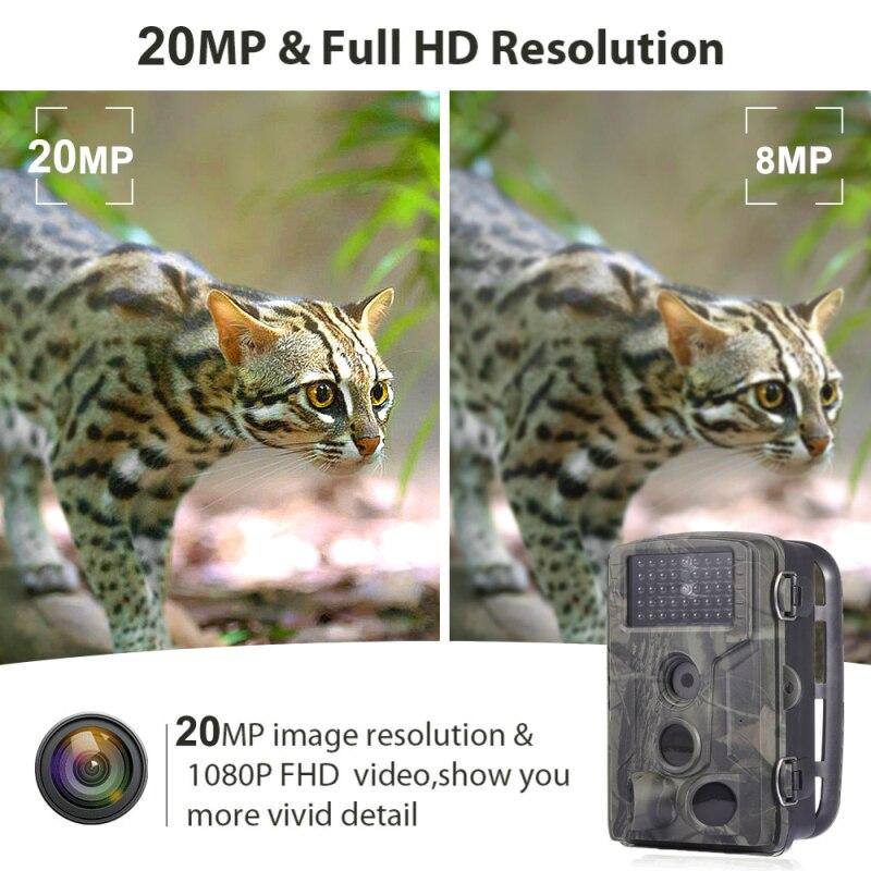 Hc802a wildlife trail camera hd 1080 p
