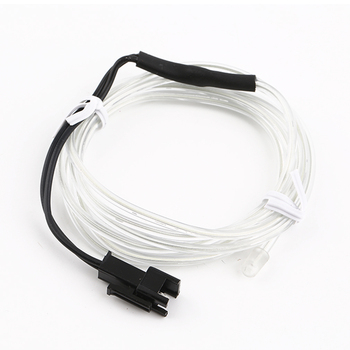 Mini Colorful 4m Flexible EL Wire Tube Rope Neon Light DC 12V Car Party Bar Decor Hot image