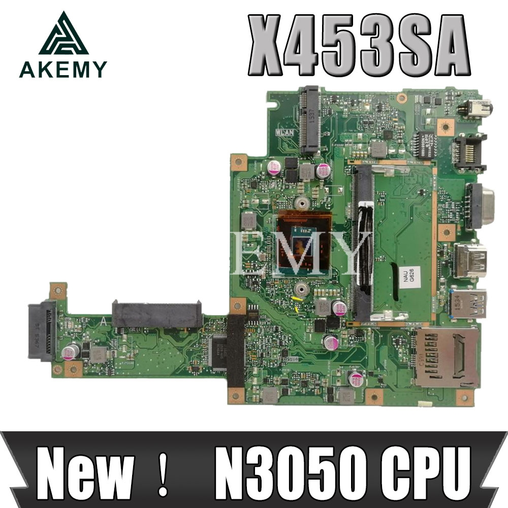 100% New And Working For Asus X453 X453SA Laptop Motherboard REV.2.0 N3050 CPU