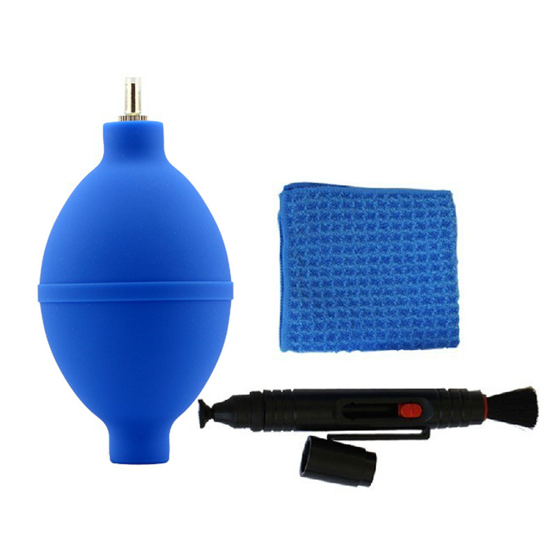 FB FB-QJT003 Digital SLR Camera Cleansing Set Microfiber Cloth + Profession Air Blower + Lens Pen