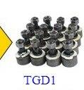 """13,"""" круговой стальной тяжелый диск без ржавчины для Алмазный пол шлифовальный станок   330 мм шасси Круглая Пластина для установки алмазных инструментов - Цвет: 16 pieces of TGD1"""