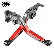 CNC Aluminum Motorcycle Brake Handle Adjustable Folding Brake Clutch Levers For HONDA CBR1100XX ST1300 VFR800 CBR 1100XX VFR 800 цена