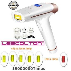 Image 2 - lescolton More lamps choose 7in1 5in1 6in1 4in1 IPL Laser Hair Removal Machine Lazer epilator Hair removal For Boay Bikini Face