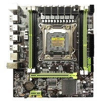 X79 Motherboard Lga 2011 4xDdr3 Dual Channel 64Gb Memory Sata 3.0 Pci E 8Usb for Desktop Core I7 Xeon E5
