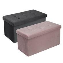 Функциональные хранения скамеечка для ног скамейка ottoman складной