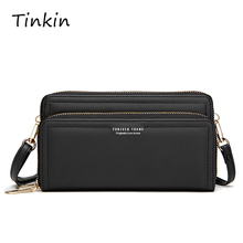 Ladies Zipper Handbag Sling Bag Women Multi-card Large Capacity Portable Leather Long Wallet Purse Casual Organizer Wallets
