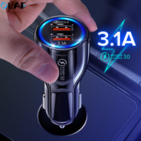 Car Charger Fast Quick Charge 3.0 For iphone 11 pro max Redmi note 8 pro 7 Samsung Mobile Phone Car-Charger Dual USB Car Charger