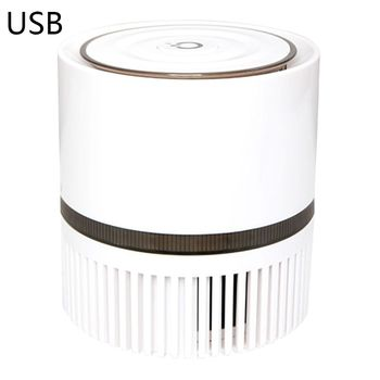 Portable Air Purifier for Home Office Desktop Very Silent Negative Ion Mini Filter