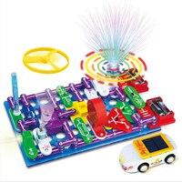 DIY Electronic Building Blocks Circuit Assembled Bricks Circuit Science Toy Building & Construction Toy Blocks