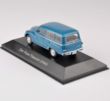 Car Model 1/43th Diecast Blue Car Mode Dkw-VEMAG VEMAGUET(1964) Vehicles toys Kids