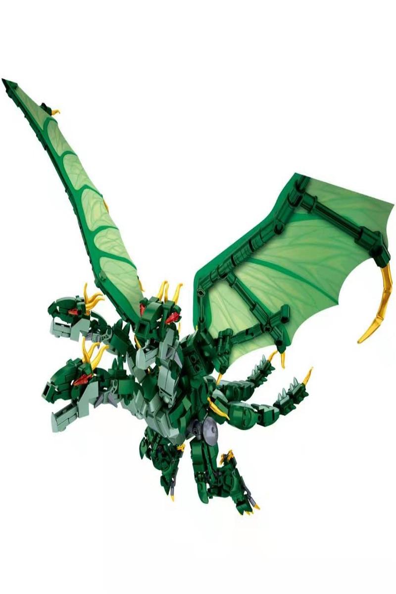 New Japan Anime movie Godzilla Quidola compatible Legoed Model Building Blocks Bricks Toys Educational DIY Kids Gifts in Stacking Blocks from Toys Hobbies